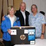 HP Laptop winners Mr. and Mrs. Samuel McKay